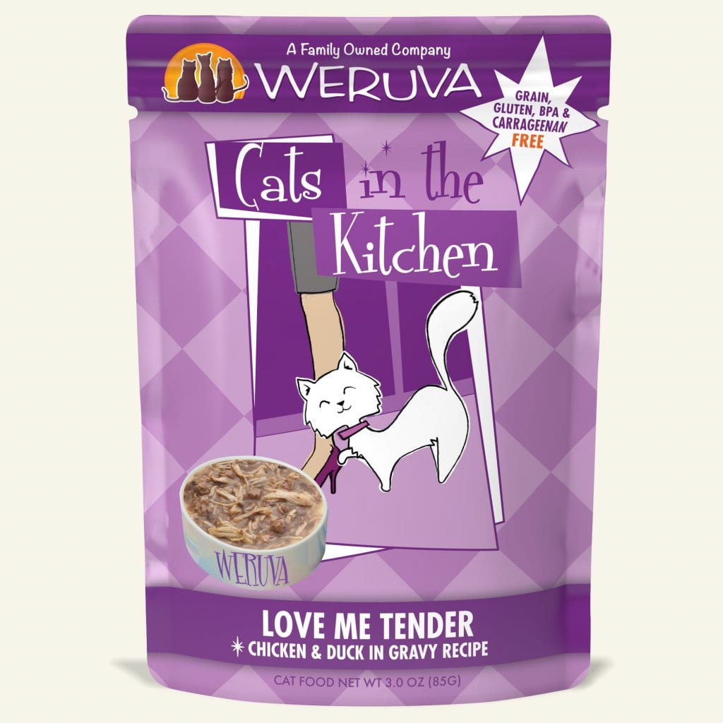 Cats In The Kitchen Weruva Because We Luvya