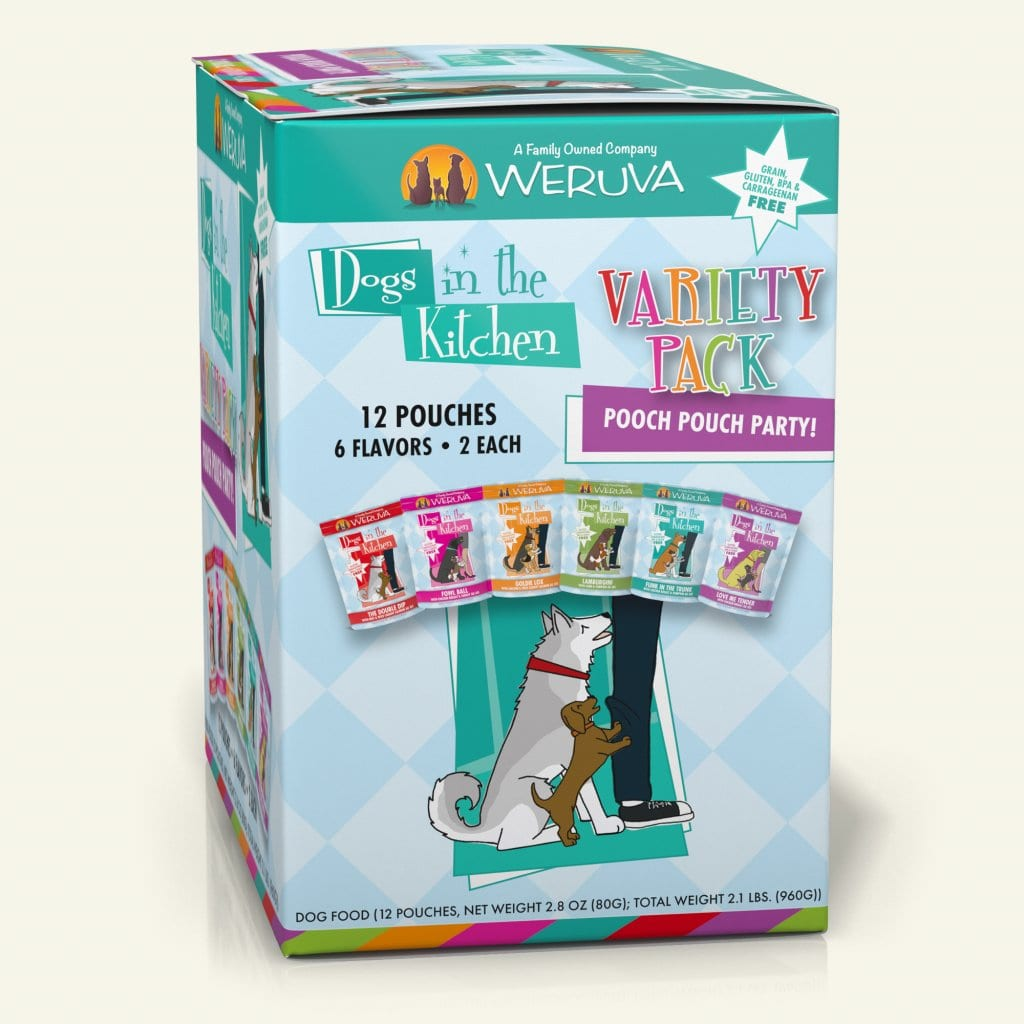 Pooch Pouch Party - Weruva | Because We Luvya